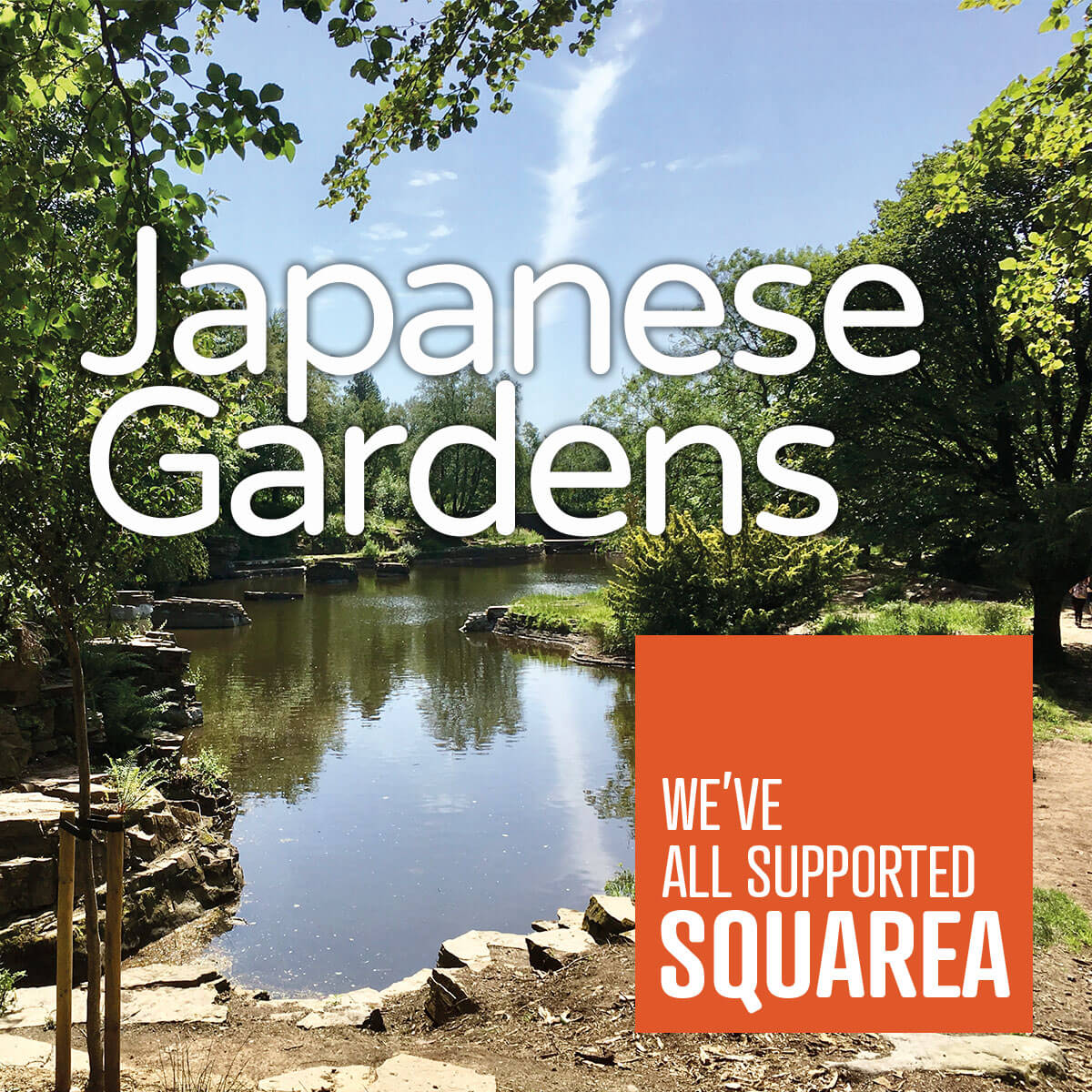Japanese Gardens - We've all supported Squarea