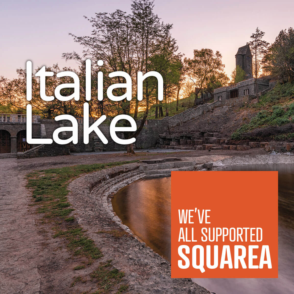 Italian Lake - We've all supported Squarea